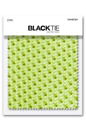 Lime Venetian Fabric Swatch