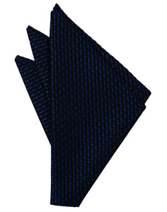 Navy Venetian Pocket Square