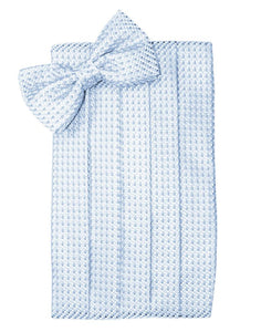 Powder Blue Venetian Cummerbund