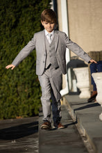 """Leo"" Kids Heather Grey 5-Piece Suit"