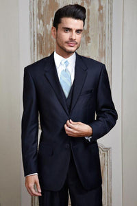 """Madison"" Midnight Navy Suit Jacket"