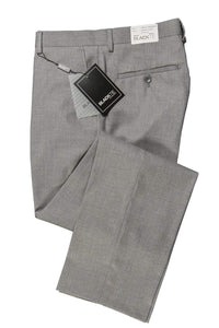 """Bradley"" Heather Grey Luxury Wool Blend Suit Pants - Unhemmed"