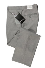 """Bradley"" Heather Grey Luxury Wool Blend Suit Pants"