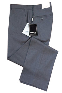 """Bradley"" Steel Grey Luxury Wool Blend Suit Pants"