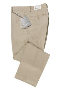 """Bradley"" Tan Luxury Wool Blend Suit Pants - Unhemmed"