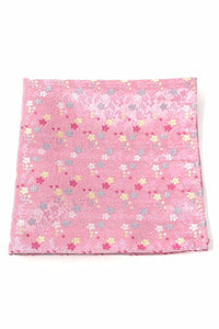 Pink Enchantment Pocket Square