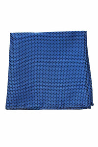 Blue Regal Pocket Square