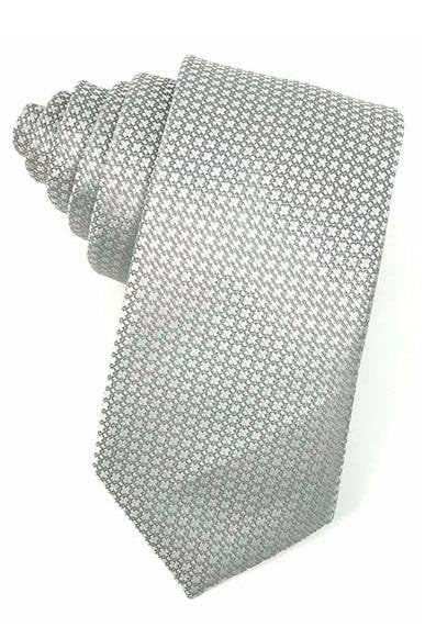 Grey Regal Necktie