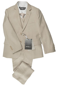 """Leo"" Kids Tan 5-Piece Suit"
