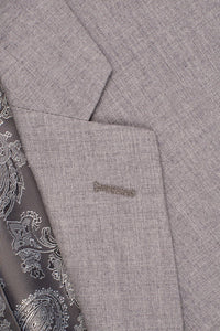 """Madison"" Heather Grey Suit Jacket"