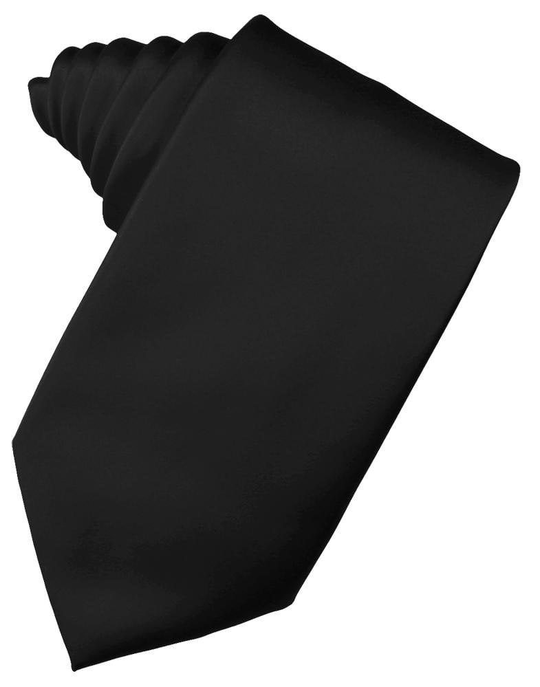 Black Noble Silk Necktie