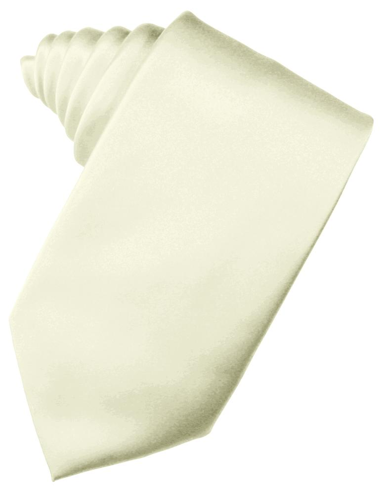 Ivory Noble Silk Necktie