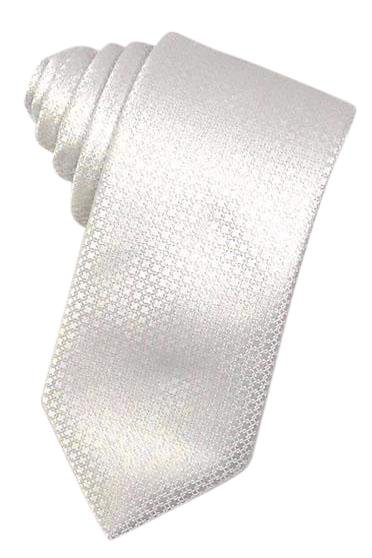 White Regal Necktie