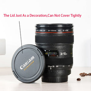 Camera Lens Coffee & Tea Cup: Make Every Cup Picture Perfect