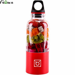 USB Rechargeable Portable Juicer: Holds Up To 500ml Of Fruit & Vegetables