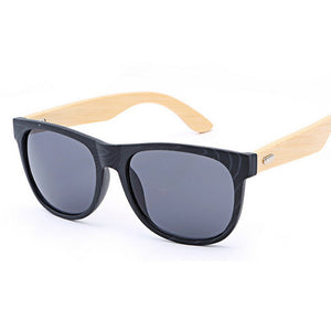 Bamboo Wooden Mirror Sunglasses: Wooden Shades For Those Throwing Shade!