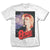 David Bowie Retro - Mens White T-Shirt