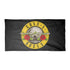 Guns N' Roses Bullet Logo - Mens Black Towel
