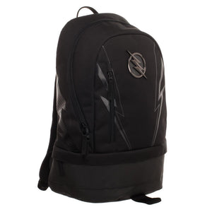 DC ZOOM Backpack  Black Polyester Backpack with Bottom Compartment