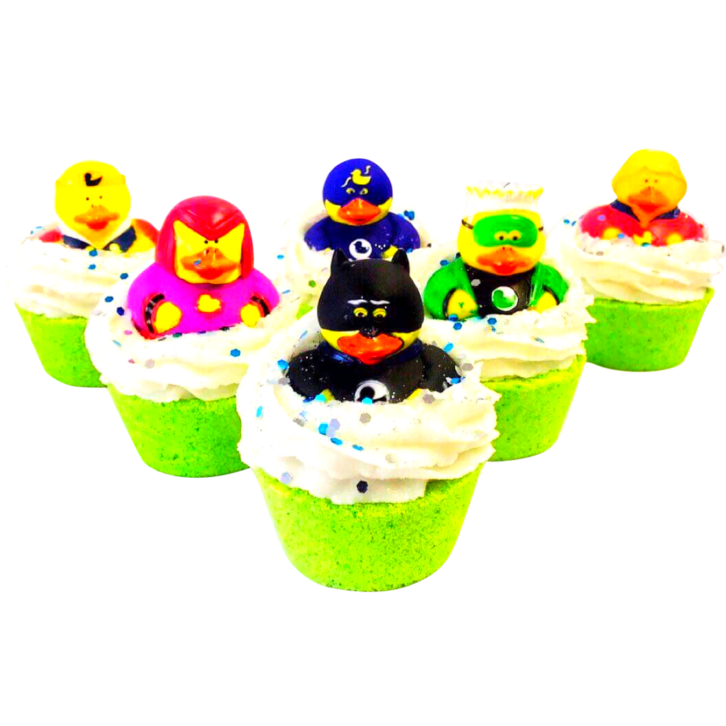 Super Hero Bubble Ducks