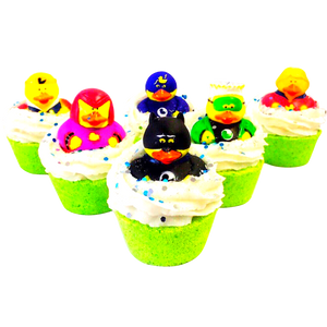 SUPERHERO DUCK BATH BOMBS