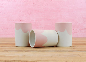 Limited Edition Espresso Cup - Blush Drips