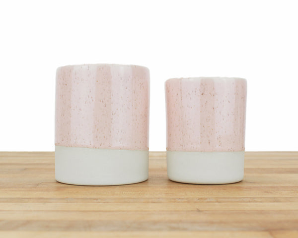 Speckled Glaze Cups - Two Sizes!