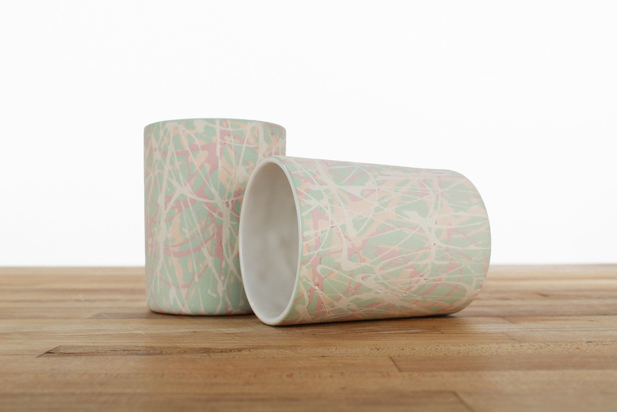 Limited Edition Splatter Cup - Mint