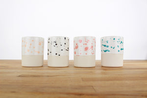 Spotted Glaze Cups