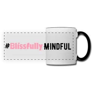 Blissful Mug - white/black