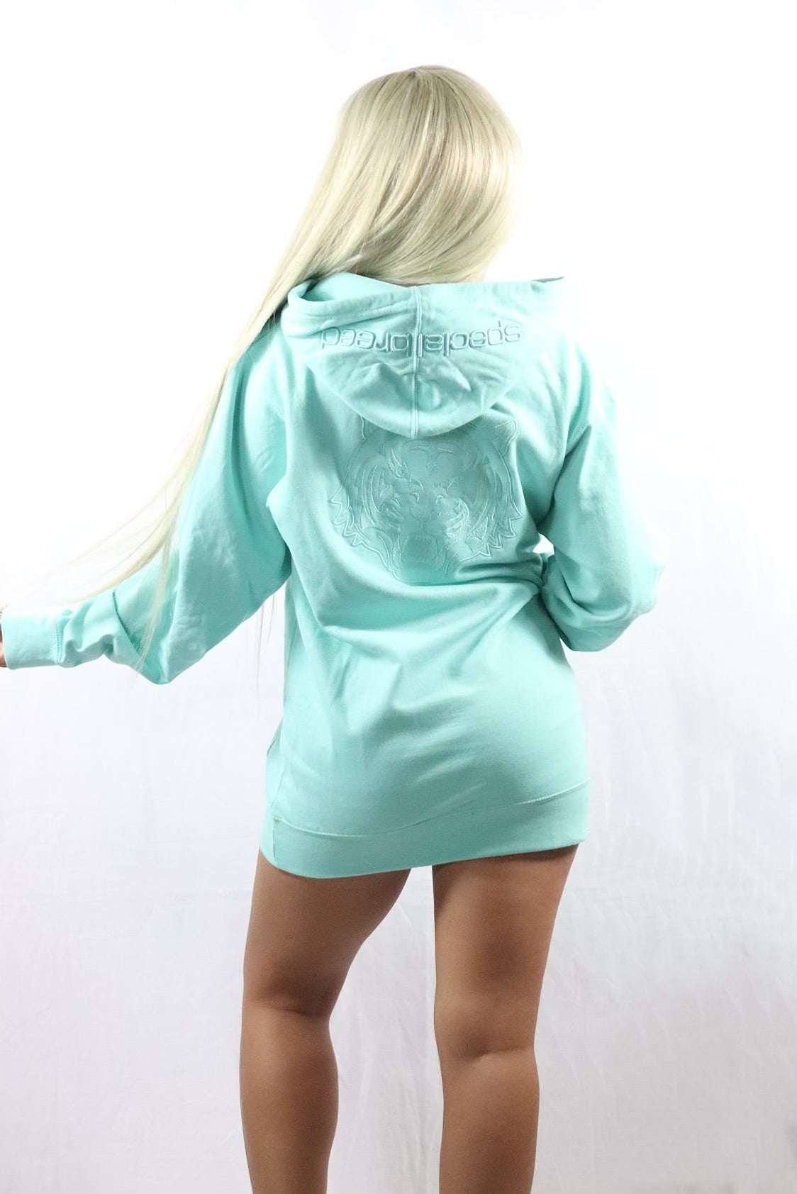 Women's Mint Hoodie with Mint Logo