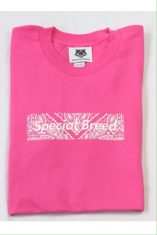 Hot Pink Paisley Tees Special Breed