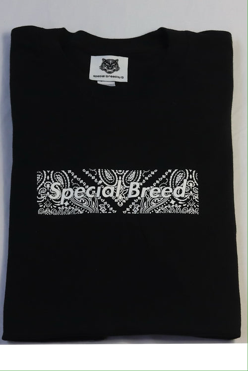Black Paisley Tees Special Breed