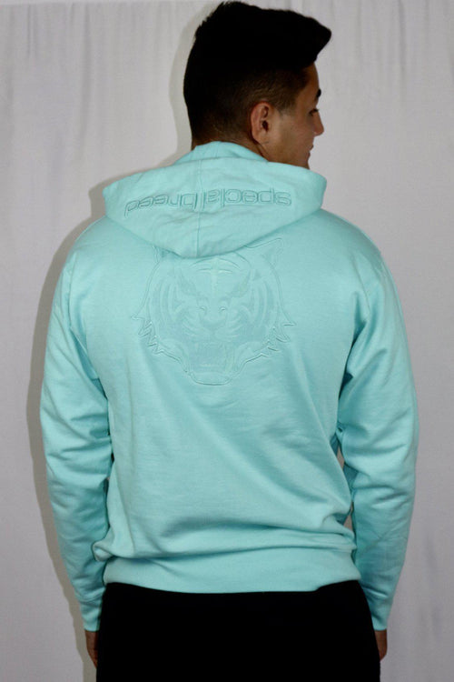 Mint Hoodie with Mint Logo Unisex - specialbreed