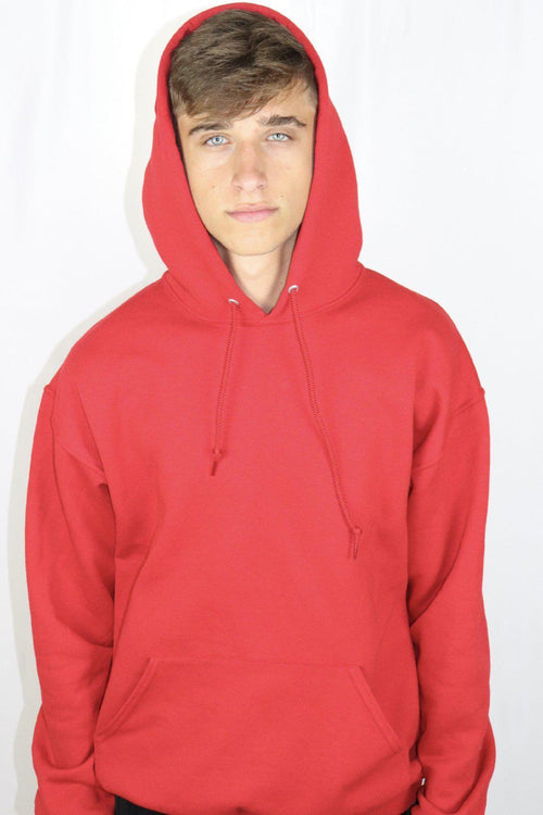 Red Hoodie with Logo Unisex - specialbreed