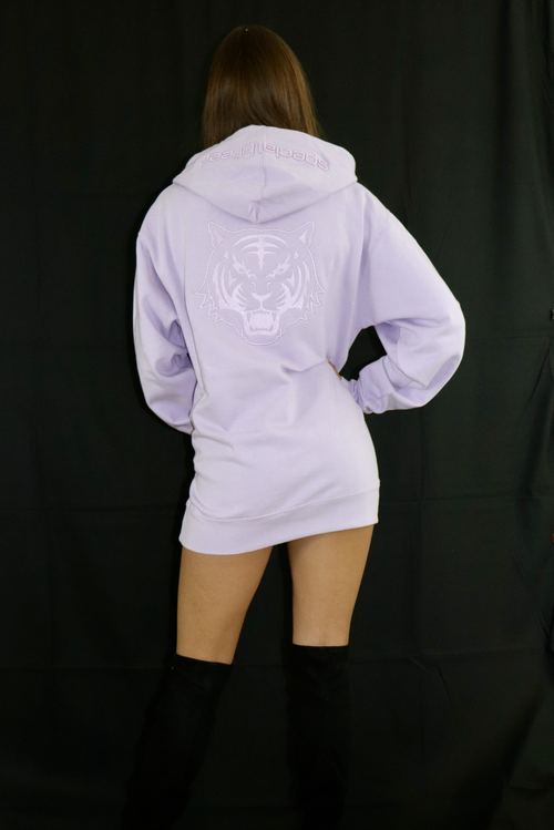 Women's Lilac Hoodie with Lilac Logo - specialbreed