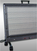 electric radiant infrared heat portable unit