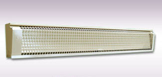 electric radiant infrared heat baseboard unit