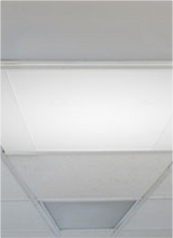 electric radiant infrared heat ceiling lay in unit
