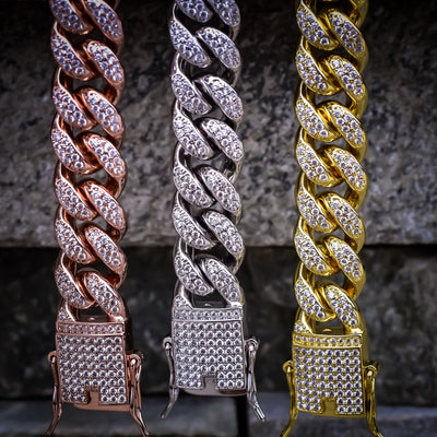 12MM Diamond Cuban Chain