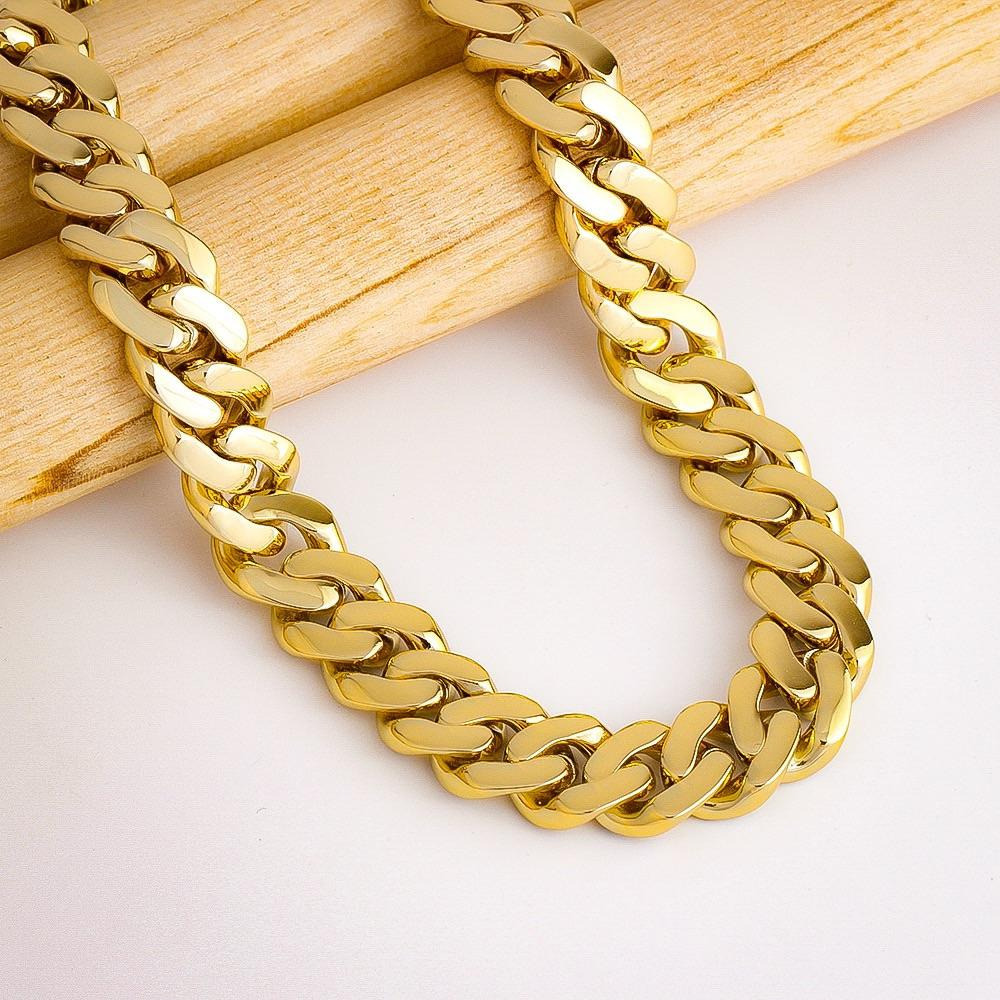 12MM Solid Miami Cuban Chain