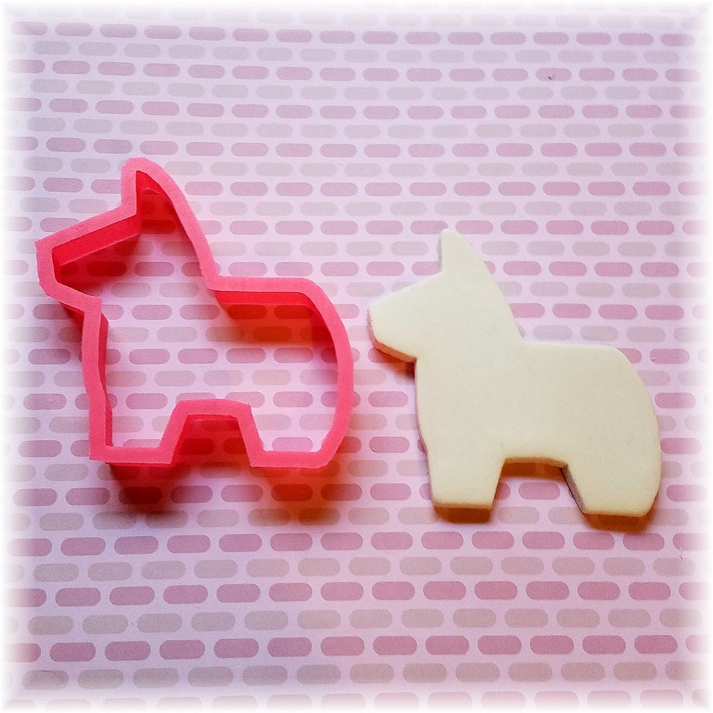 Donkey Piñata Cookie Cutter