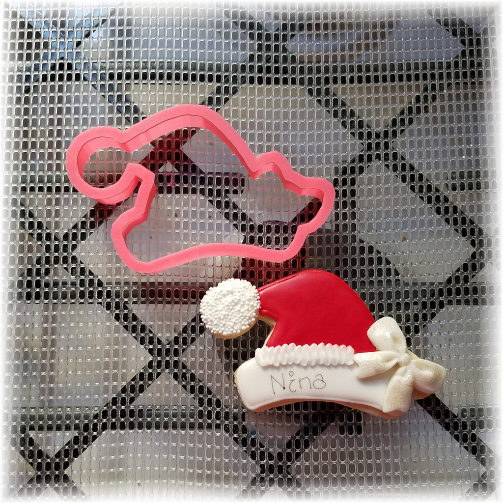 Santa Christmas Hat Cookie Cutter