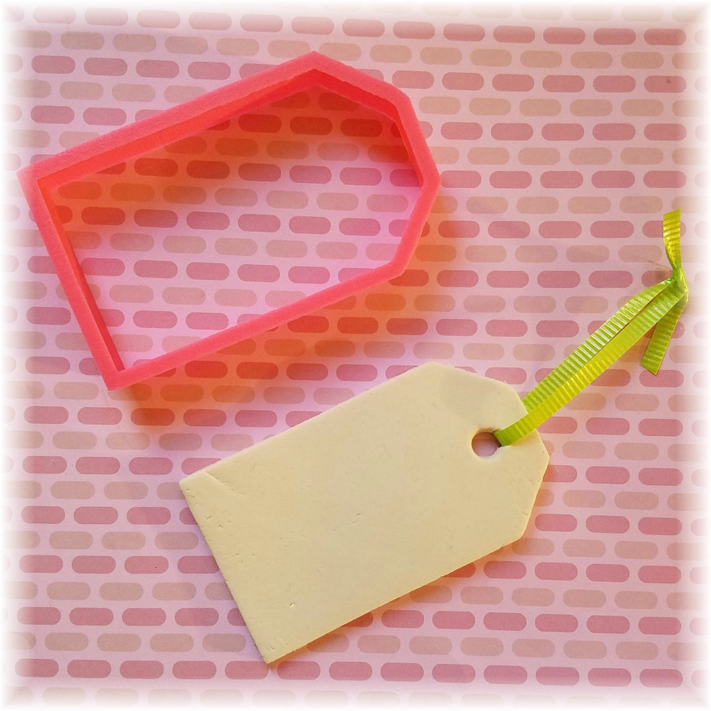 Gift Name Tag Cookie Cutter