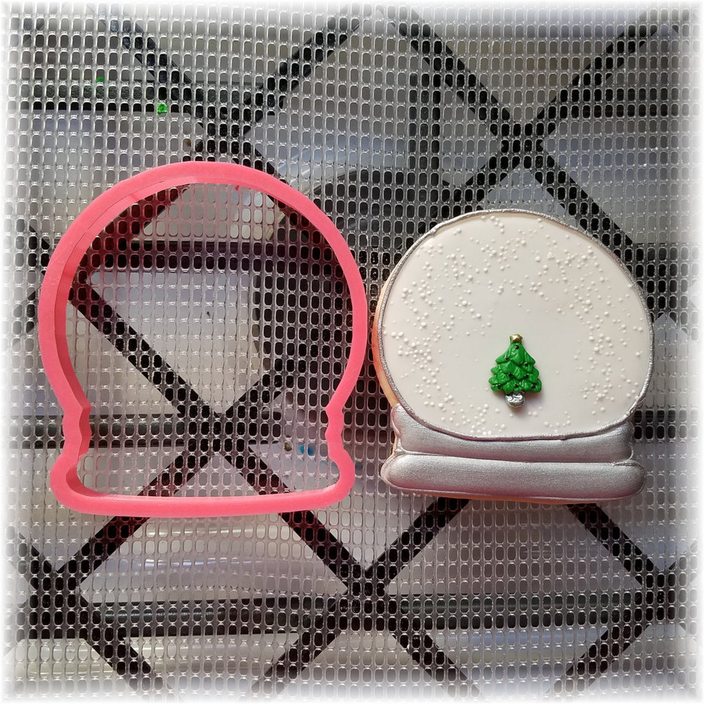Christmas Snow Globe Cookie Cutter