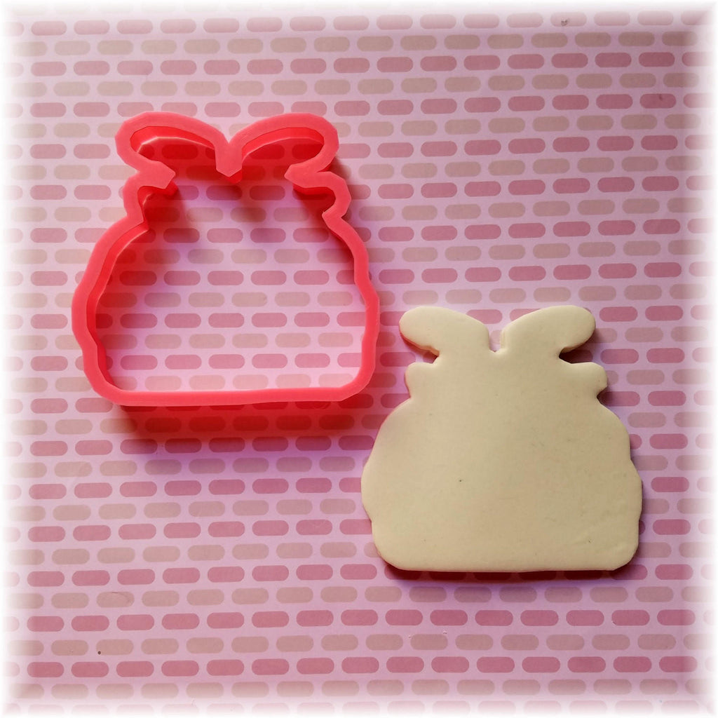 Christmas Santa Claus In Toy Bag Cookie Cutter