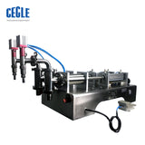 DF6 two heads full pneumatic alcohol liquid and disinfectant filling machine