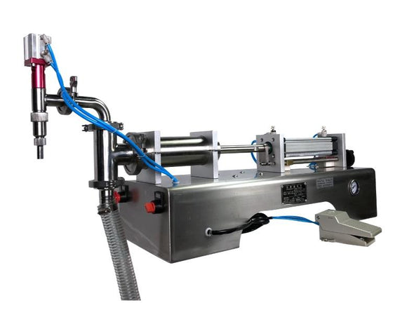 F6 series semi automatic liquid filling machine for water