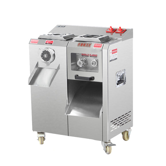 Commercial stainless steel vertical electric meat grinder