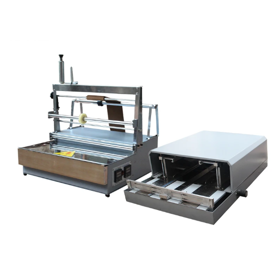 ACW-88 + A3DP-88 semi-automatic pneumatic packing machine perfume box